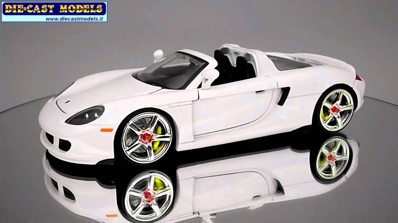 Porsche Carrera GT - 1:24 - YouTube