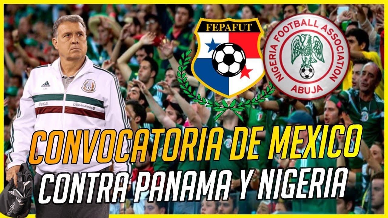 Oficial: la alineacin de la Seleccin Mexicana vs. Nigeria en ...