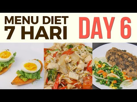 Menu Diet Sehat Seminggu Untuk Menurunkan Berat Badan Day 6