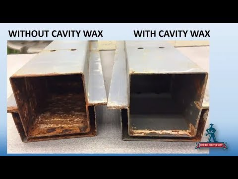 Corrosion Protection And Rust Proofing In Collision Repair: Repair University Live