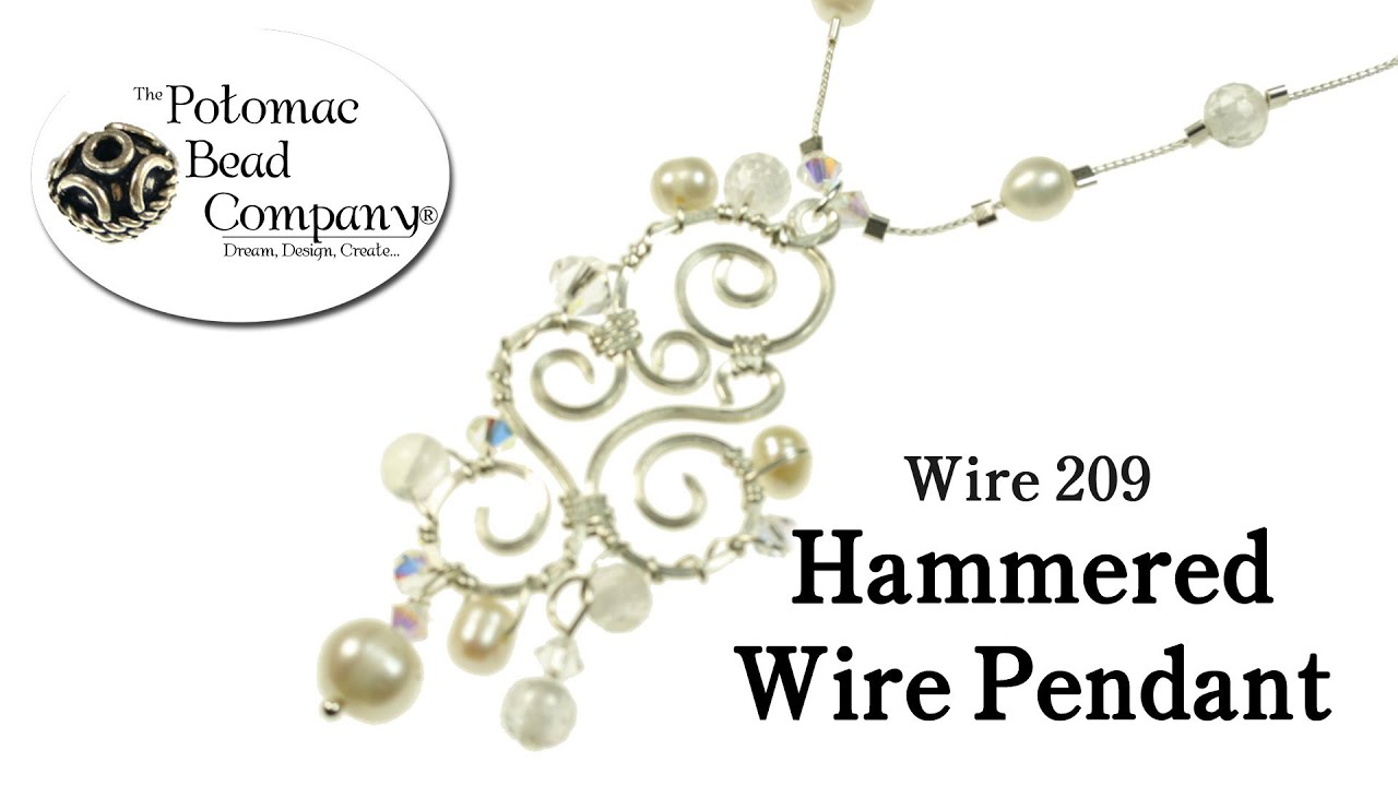 how to make wire pendants