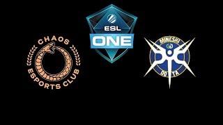 Chaos Esports Club vs Mineski ESL One Katowice 2019 Highlights Dota 2