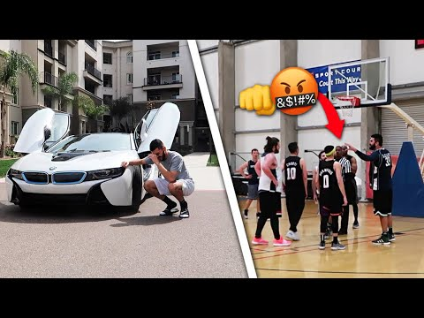 I got KICKED OUT of my game.. THEN A HATER DID THIS TO MY CAR!