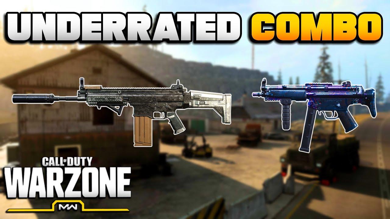 Surprisingly Good Best SCAR/MP5 Loadout in WARZONE | Modern Warfare Best Class Setups | JGOD