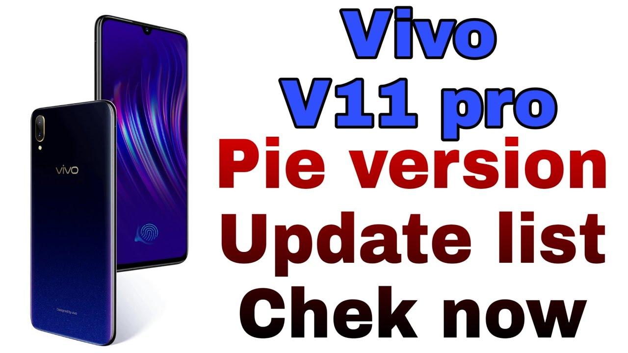 Vivo v11 pro pie update / vivo android pie update list #tachnicalsk