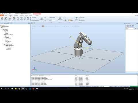 Ipari robotok programozása 3. ABB RobotStudio