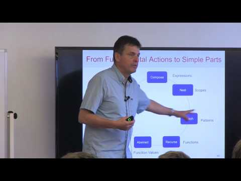 SF Scala: Martin Odersky, Scala -- the Simple Parts