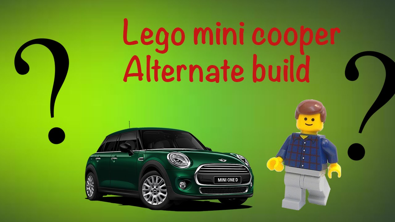 Lego Alternate Build Mini Cooper