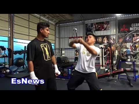 Mikey Garcia Got Ansome Gift From Jordan Brand EsNews Boxing