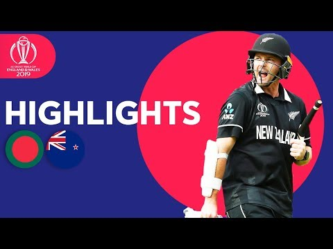 Down To Final 2 Wickets! | Bangladesh vs New Zealand | ICC Cricket World Cup 2019 - Match Highlights