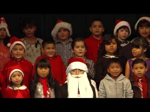 Mckinnon Elementary School Salinas, 2nd Grade Christmas Performance