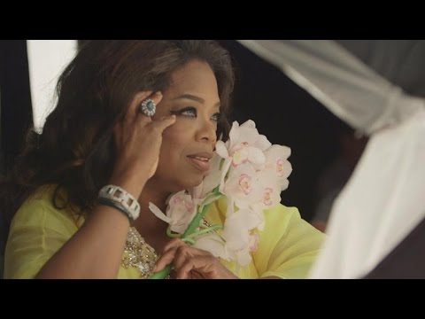Oprah Goes Ultra Glam for Four-Cover Photo Shoot