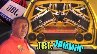 Crazy JBL Audio Install w/ 12 GTI Subs on 10,000 WATTS | Terrell's LOUD 4th Order Bandpass
