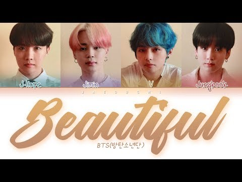 "BTS (방탄소년단) ""Beautiful"" (Color Coded Lyrics Eng/Rom/Han/가사)"