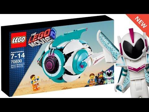 THE LEGO MOVIE 2 Sweet Mayhem's Starship SET IMAGES & Custom Box Art! (70830) - Tvaction.info