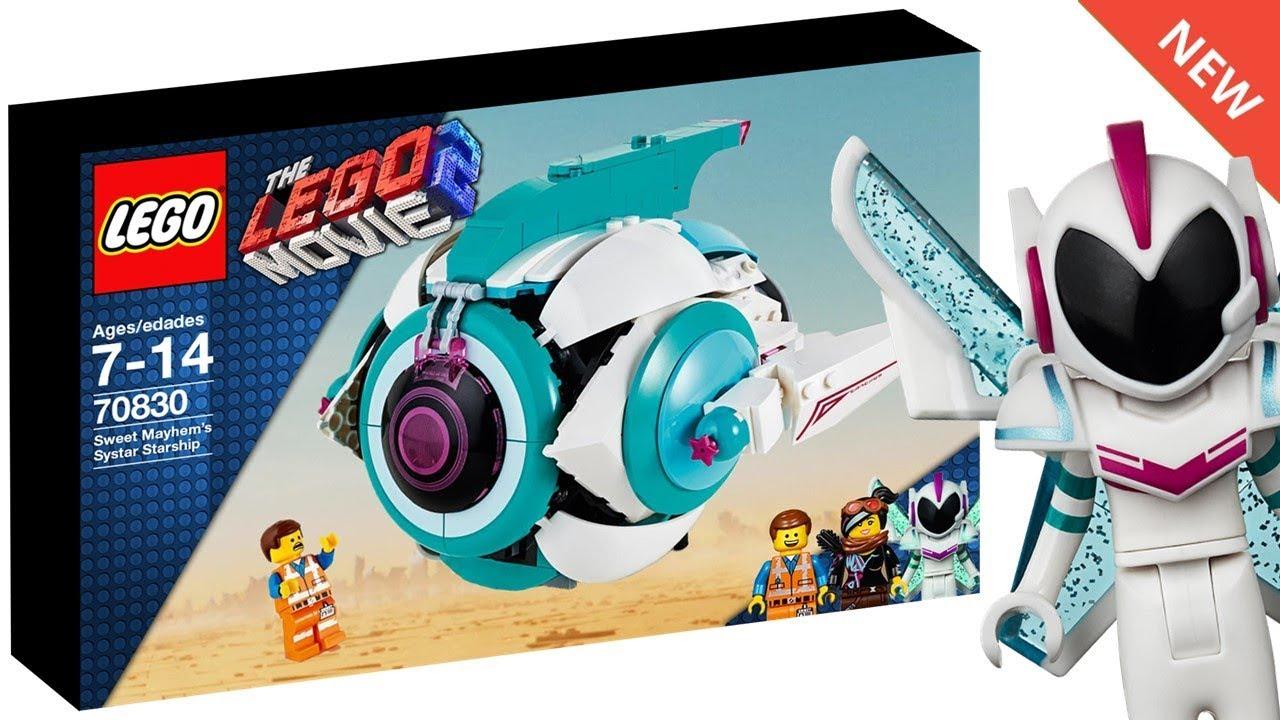 9.5 MB | THE LEGO MOVIE 2 Sweet Mayhem's Starship SET ...
