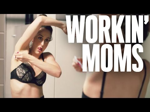 Getting ready for date night | Workin' Moms | Coming soon to CBC