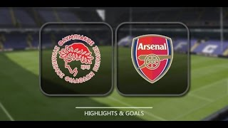 HIGHLIGHTS ► Olympiacos 0-3 Arsenal - 9 Dec 2015 | English Commentary