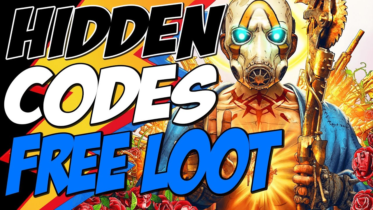 Borderlands 3 Game Poster Cover Hidden Codes And Free Loot Youtube