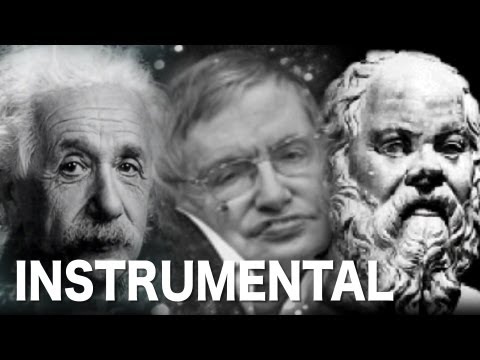 KARAOKE: Albert Einstein vs. Stephen Hawking feat. Socrates - Epic Rap Battle of History