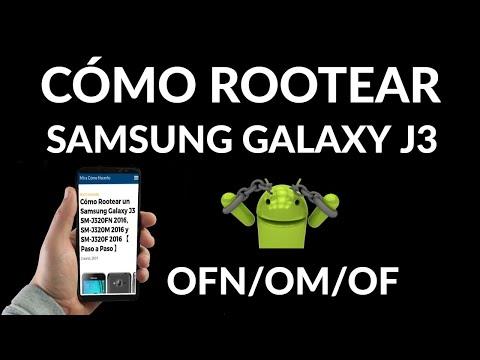 Cómo Rootear tu Samsung Galaxy J3