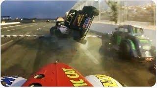Legend Car Race Crash | Watch For Banana Peels