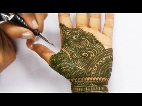 Hours Of Henna Tattoos In Seconds