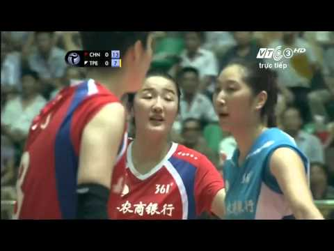 [3rd Position]Zhejiang(CHN) vs Taiwan Power(Taipei):Asian Women'Volleyball Club Championship 2015