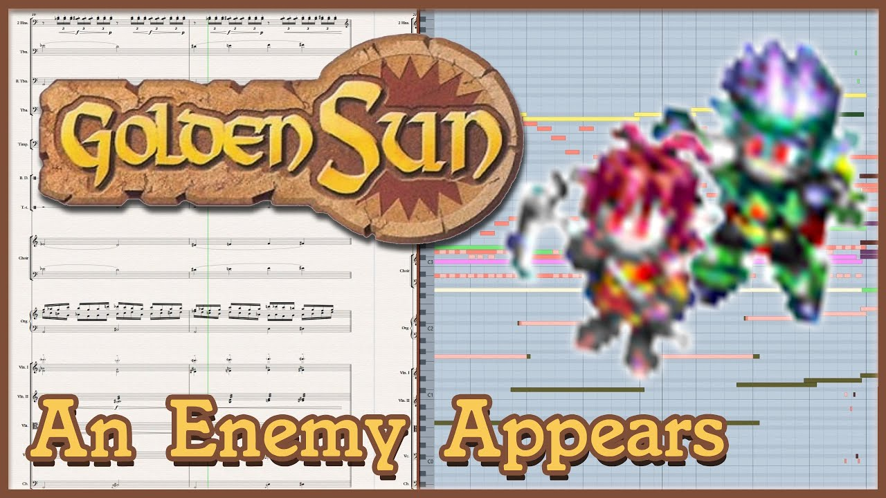 "New Arrangement: ""An Enemy Appears"" from Golden Sun: The Lost Age (2002)"