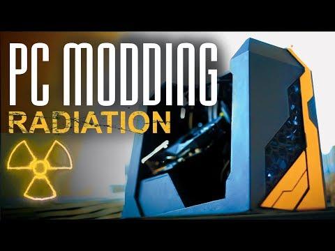 МОДДИНГ ПК из Ничего Проект Радиация сборка PC MODDING Project Radiation