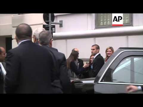 Kerry, Lavrov and Steinmeier arrive at nuclear talks venue