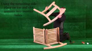 How To Build A Teak Premier Rocking Chair