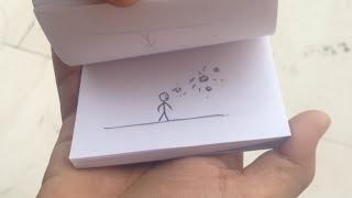 flip book animation for my cute girlfriend (i love u piyu)