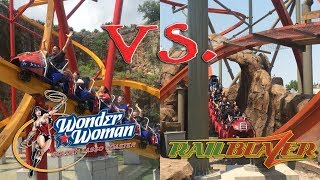 Which is Better: Wonder Woman or RailBlazer?