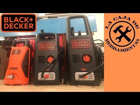 Hidrolavadoras Black + Decker