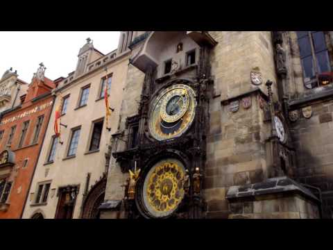 The oldest Astronomical Clock in the world in Prague