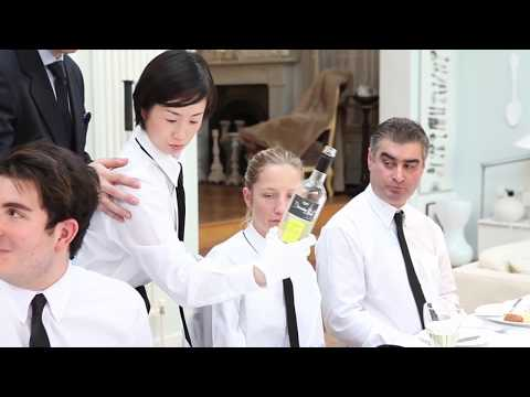 Silver Service Training - The British Butler Academy