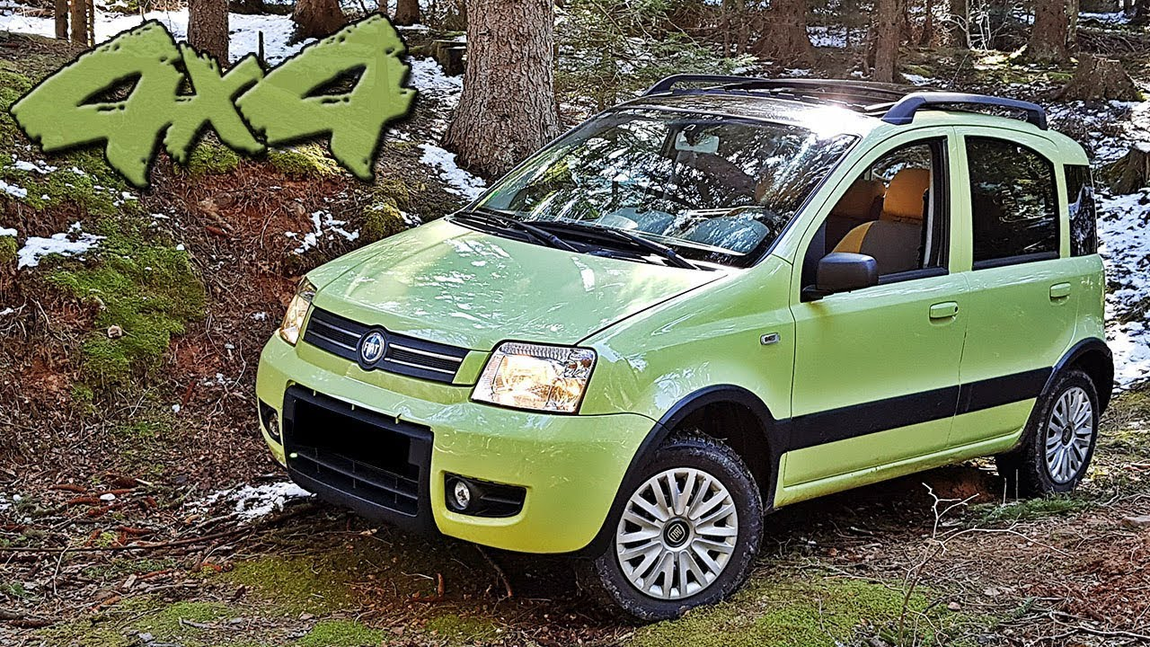Off road test malog terenca fiat panda climbing 4x4 2005 for Panda 4x4 youtube