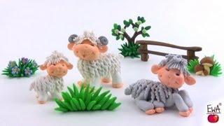 כבשה מפלסטלינה
