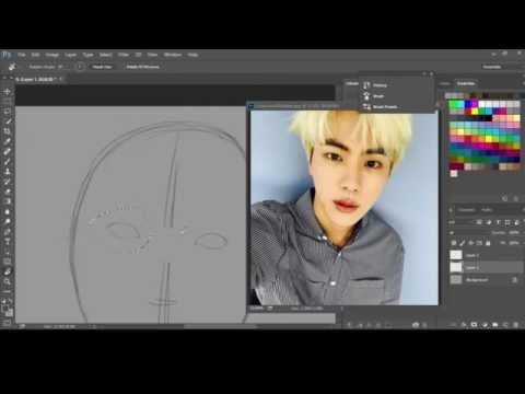 Jin Selca (Sketch) II BTS Speedpaint