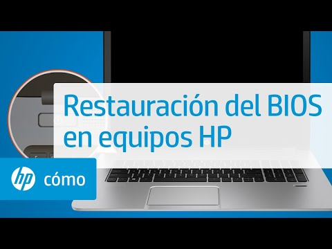 Restauración del BIOS en equipos HP | HP Computers | @HPSupport