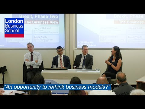 What do UK businesses want to get out of Brexit? | London Business School