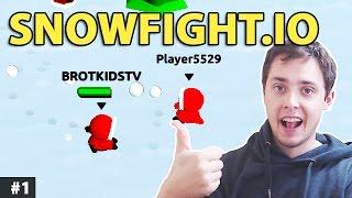 Darmowe Gry Online - Snowfight.io