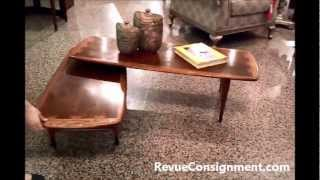 "See The Lane ""acclaim"" Swivel Coffee Table In Action"