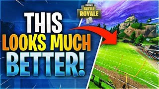 THIS LOOKS MUCH BETTER! (Fortnite Battle Royale)