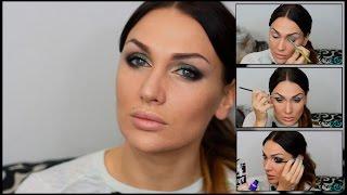 ВЕЧЕРНИЙ МАКИЯЖ с ЗЕЛЕНЫМИ тенями(Привет! Спасибо что смотрите ;) В этом видео я покажу вам как сделать вечерний макияж с зелеными тенями. ..., 2014-12-02T10:00:01.000Z)