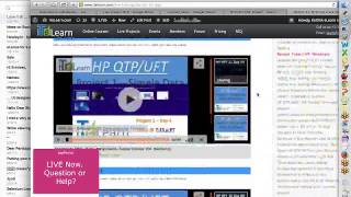 hp uft qtp live project session 01