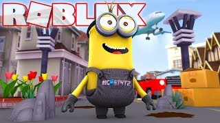 DIA UNA MINION IN ROBLOX! (Cattivissimo Me 3 Film)