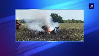 استشهاد الطيار الخوالدة إثر سقوط طائرته خلال رحلة تدريبية
