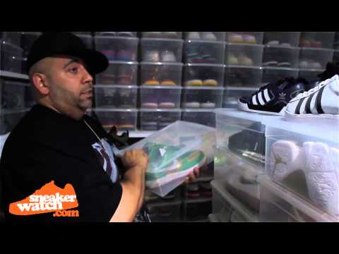 Mayor Gives Us An Updated Look At His Sneaker Collection Pt. 1